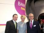 Karl und Doris Bieri mit Erich Wild (CEO Bank Now)