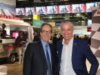 AGVS-Zentralpräsident Urs Wernli und Scout24-CEO Olivier Rihs